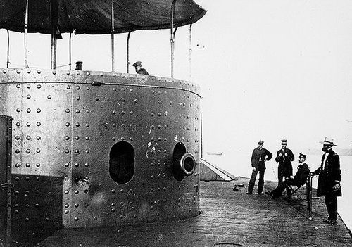 USS Monitor Turret | Naval Gun Turrets And Weapons - Overview Video And Animations ...