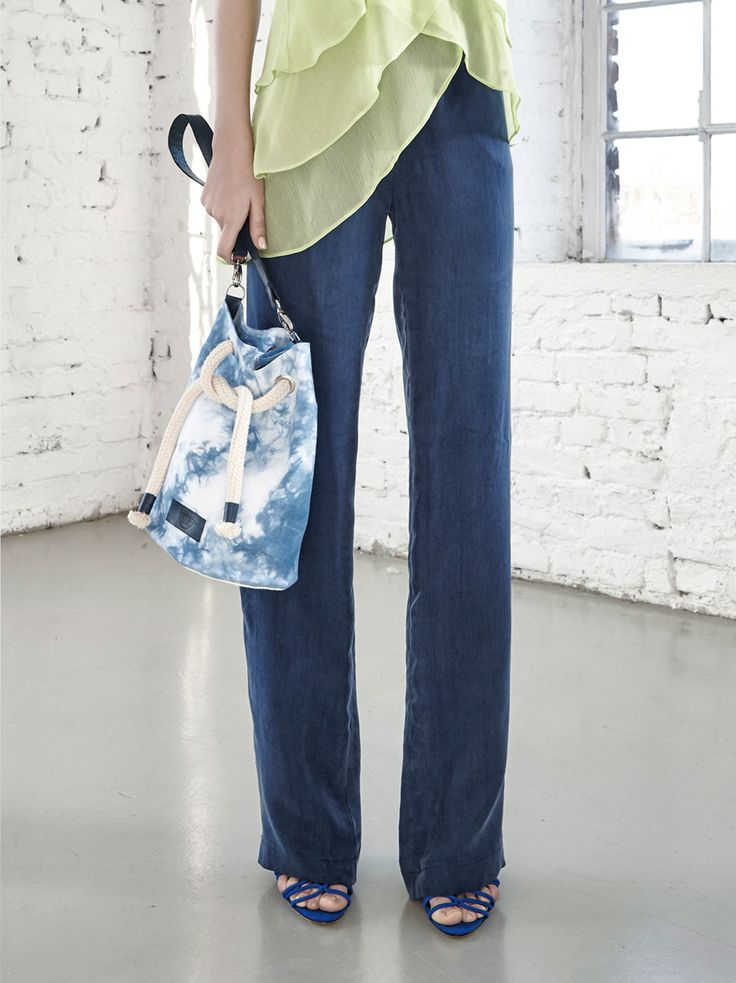 Hand Dyed Bag by Fibula - buy online at Designrs.co. Hand dyed bag with adjustable strap length.
