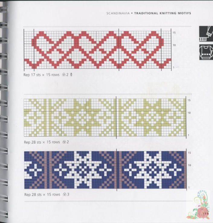 2981 best Graph patterns images on Pinterest | Embroidery, Blouses ...