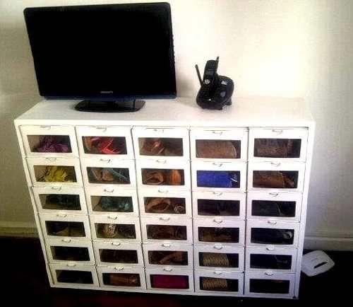 Mueble organizador de zapatos para 30 pares hasta talle - Muebles de zapatos ...