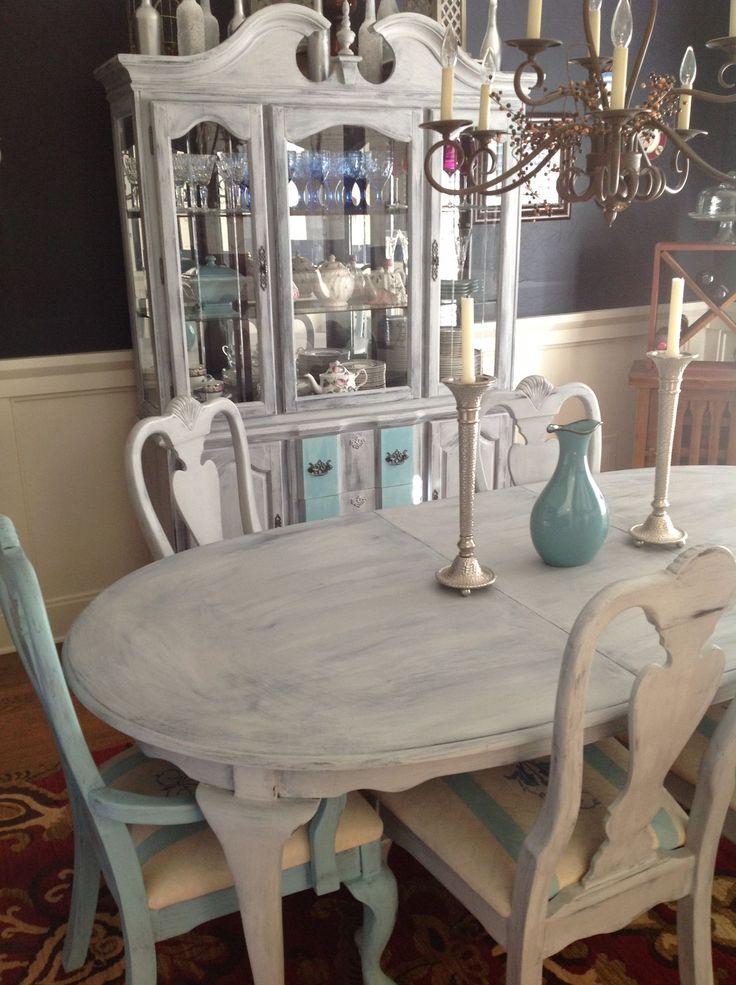 47 best Annie Sloan Vintage Furniture Makeover Inspiration images - esszimmer casera