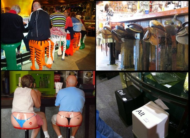 Funny Bar Stools, awesome!!!!