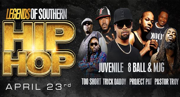 Sun Dome :: Legends of Southern Hip Hop