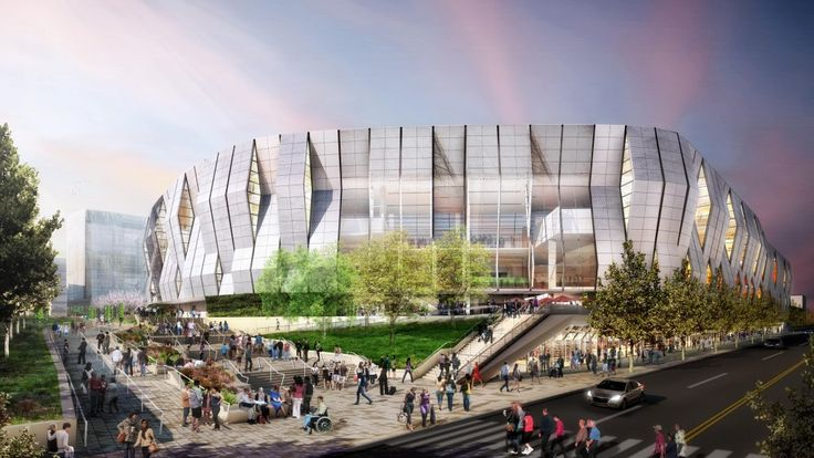 Golden 1 Center: a new home for the NBA Sacramento Kings that will be the first indoor arena run 100% on solar power