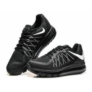 Nike Air Max 2015 Siyah Bayan Ayakkabı