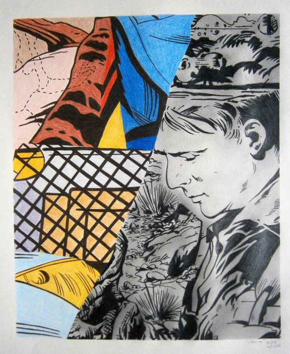 Inspiration pop Art chez #kazoart