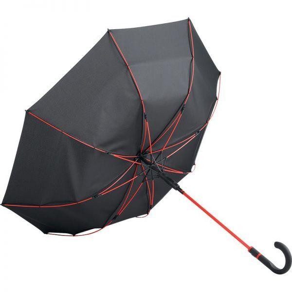 Parapluie tempête avec système windproof. La qualité au service de votre communication.