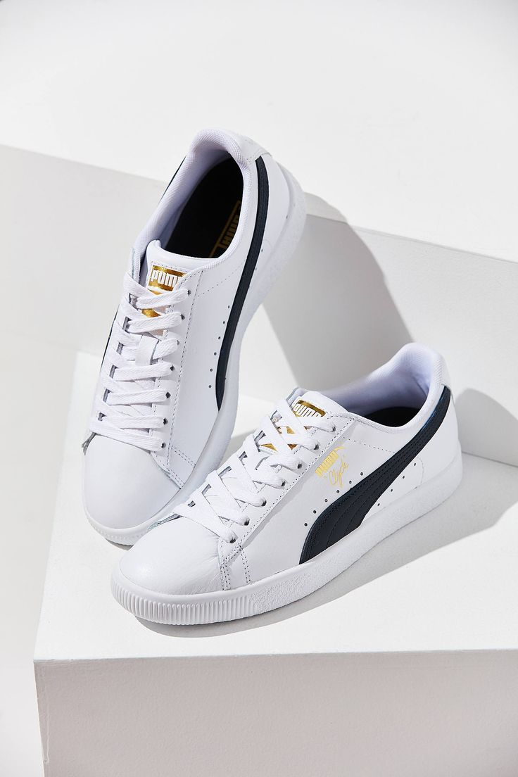 cf16164f09d Slide View: 1: Puma Clyde Core Foil Sneaker | Shoes in 2019 ...