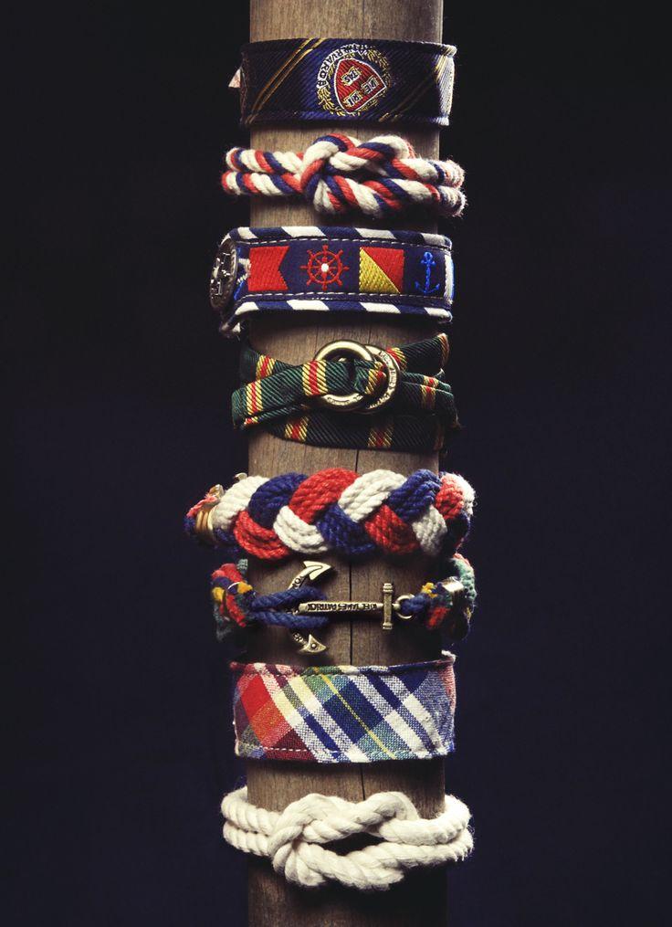 boat bracelets: Arm Candy, New England, Style, Theme Bracelets, Men Accessories, Men'S, James D'Arcy, Men Fashion, Nautical Bracelets