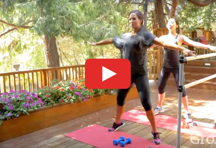 This routine will build strength without leaving you breathless. http://greatist.com/move/barre-workout