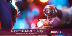 June 19, 2017 – NATIONAL FREEBSD DAY – NATIONAL WATCH DAY – NATIONAL JUNETEENTH DAY – NATIONAL MARTINI DAY