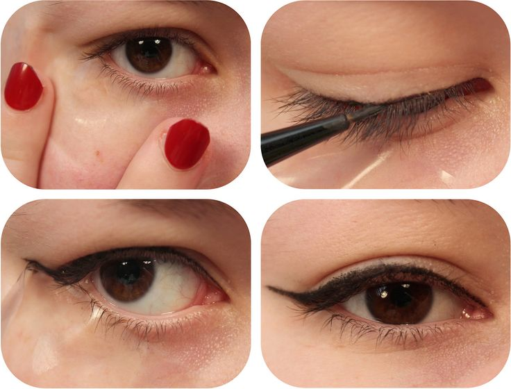 Use Sticky Tape to Create a Perfect Line! Picture this: you try to create a perfect cat eye but struggle to get both sides even and instead end up with a bumpy, uneven line. Well sticky tape can help! It can provide a stencil for your eyeliner meaning you get a perfect even line every time! Make sure to remove the stick from the tape before you use it! Place the sticky tape on the back of your hand and remove it a couple of times to prevent it from damaging skin around the eyes. Step 1. ...