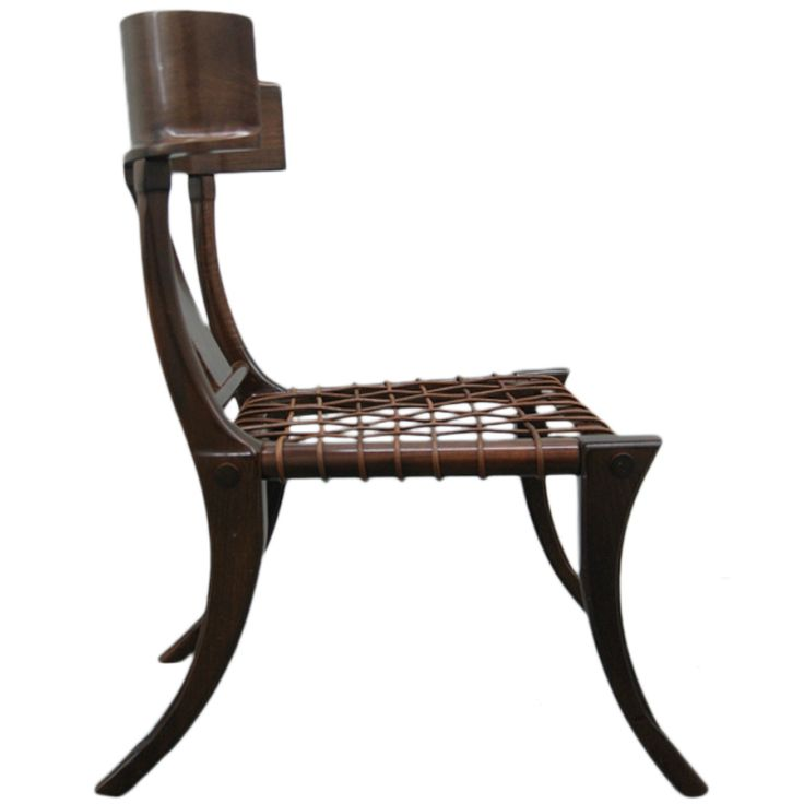 Klismos chair attributed to t h robsjohn gibbings for Modern and classic furniture