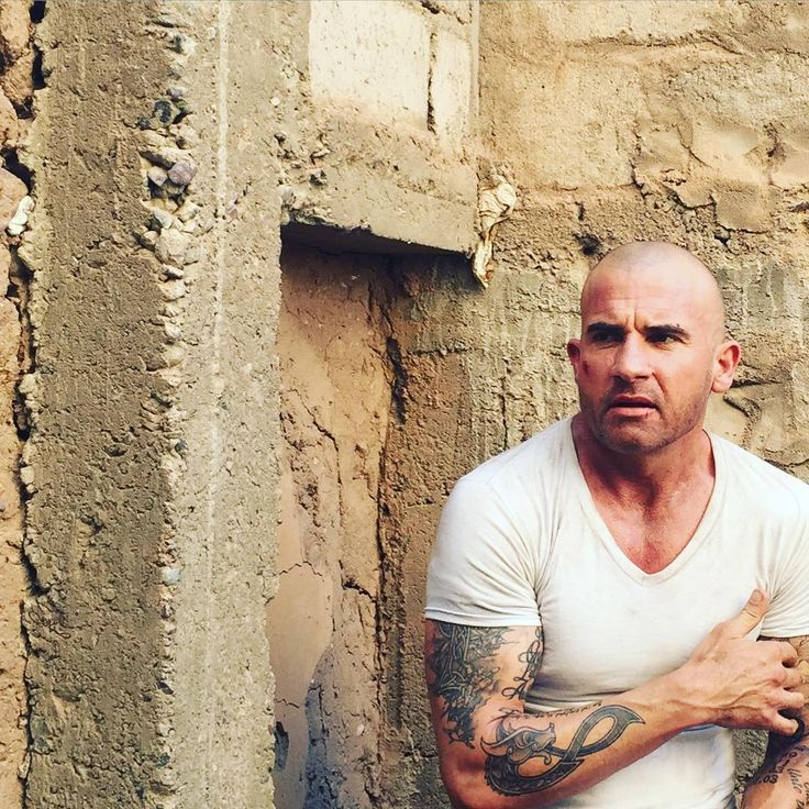 Dominic Purcell as Lincoln Burrows - Prison Break