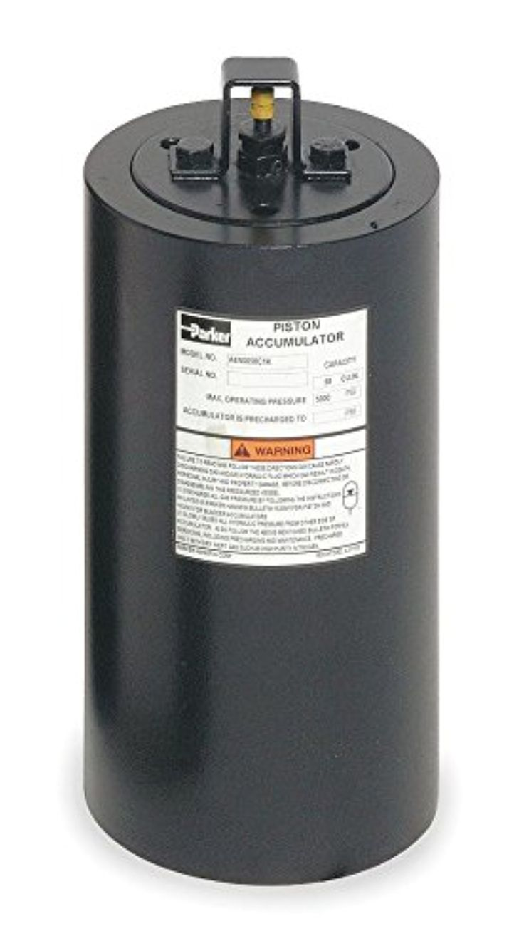 Parker Hannifin - ACP05AA100E1KTC - 0.25 gal. Alloy Steel Piston Accumulator -- Awesome products selected by Anna Churchill