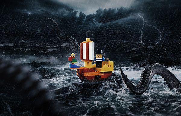 Lego Kraken on Behance