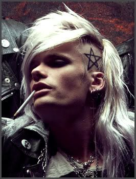 Simon Soderstrom is the lead vocalist and secondary guitarist in the Swedish sleaze rock band Crashdiet.