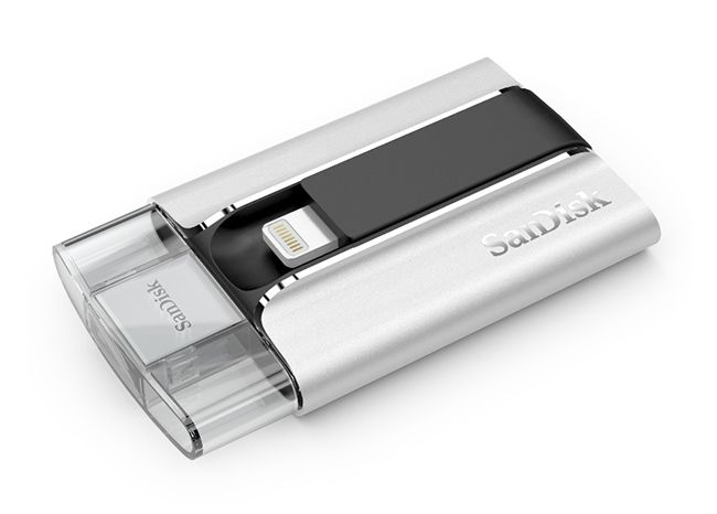 EDGED : 샌디스크, 아이폰/아이패드용 USB 메모리 'iXpand 플래시 드라이브' 발매