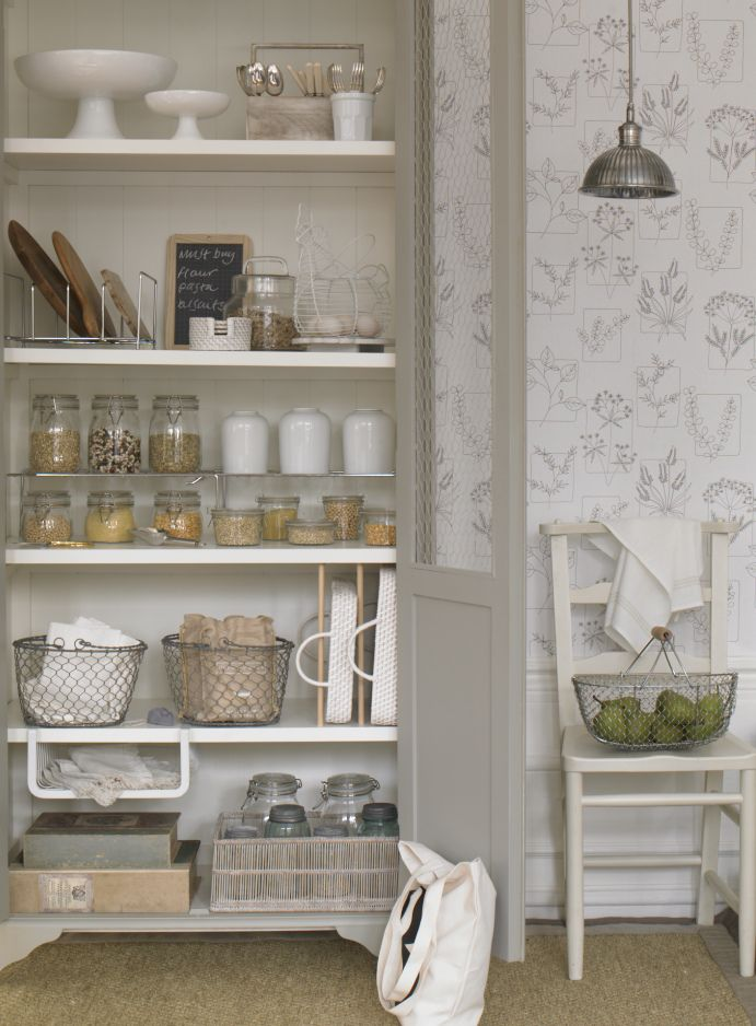 PANTRY  GOODHOMES MAGAZINE JULY 2011 STYLING EMMA CLAYTON PHOTOGRAPHY OLIVER GORDON