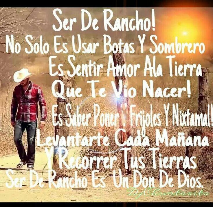 Yesss !!  Ahora resulta Que todos son del Rancho nomas por Que usan sombrero, botas, eschuchan CorridOs, Norteñas, Tierra Caliente, montan caballos, ban a las careras de caballOs Y viajan a Mx por unOs cuantos dias . Son nasidOs aQui en EU, O en Mx pero son criados aQui , Y ni saben en vrda lO Que es ser del RANChO ... PerO segun ellos son del RanchO .