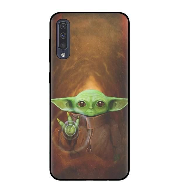 Lovely Baby Yoda Silicone Phone Case Shell For Samsung For S10e Or S10 Lite Black T9171 China Silicone Phone Case Yoda Wallpaper Branded Phone Cases Baby yoda wallpaper iphone xr