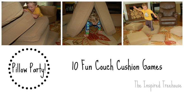 pillow party collage