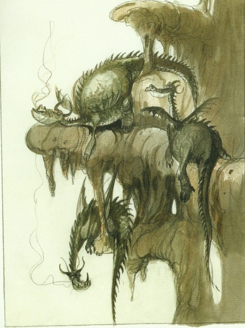 Dragon Nursery Digital Painting By Emil Mitev How To
