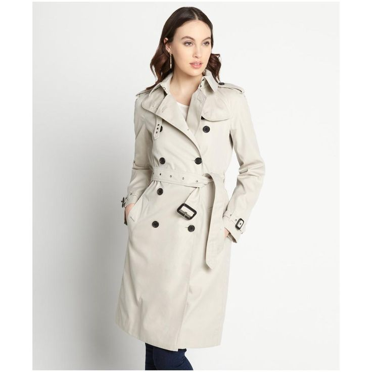 Perfect Womens Trench Coat : Women S Grey Cotton Belted Lady Trench Coat