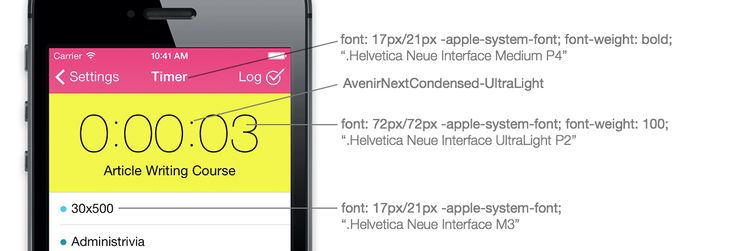 How to create a web app that looks like a iOS7 native app (Part 1)