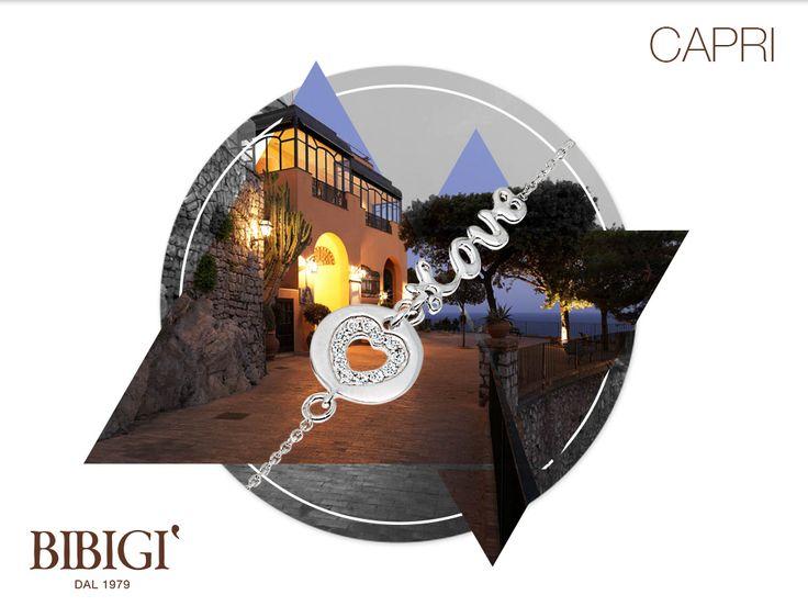 #Bibigi | Collezione #Capri | Bracciali in oro bianco e diamanti.