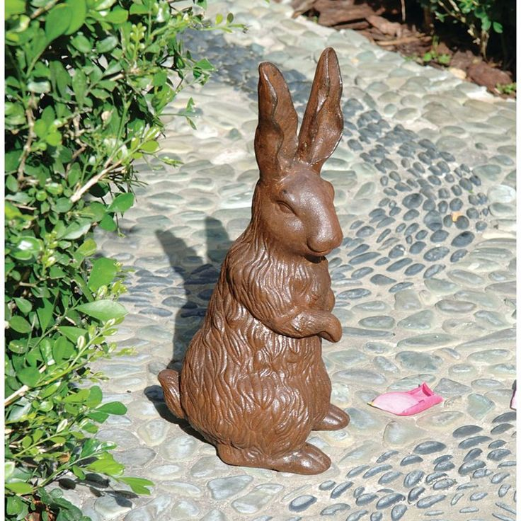 Design Toscano The English Hare Sculpture - About Design Toscano:Design Toscano is the country's premier source for statues and other historical and antique replicas, which are available...