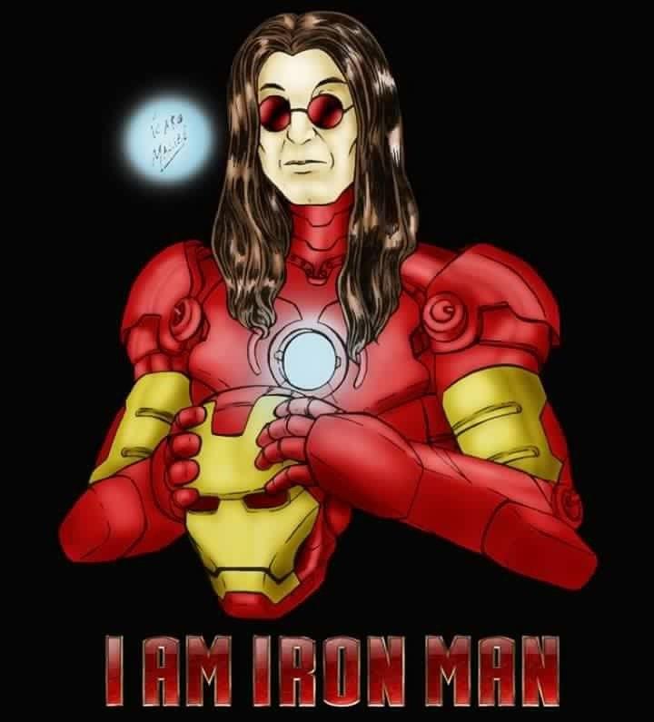 Black sabbath iron man single