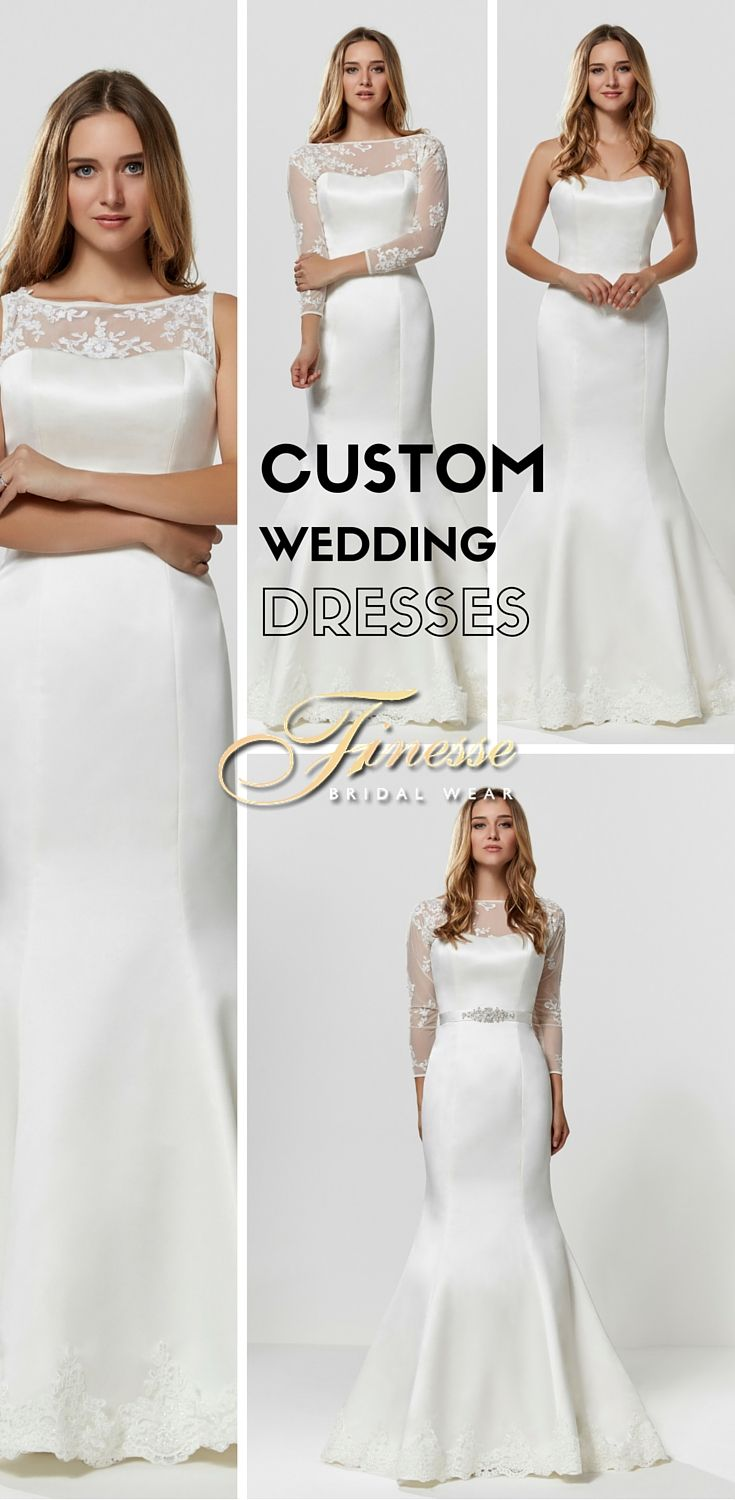 Create a Customised Wedding Dress Unique to You #CustomWeddingDress