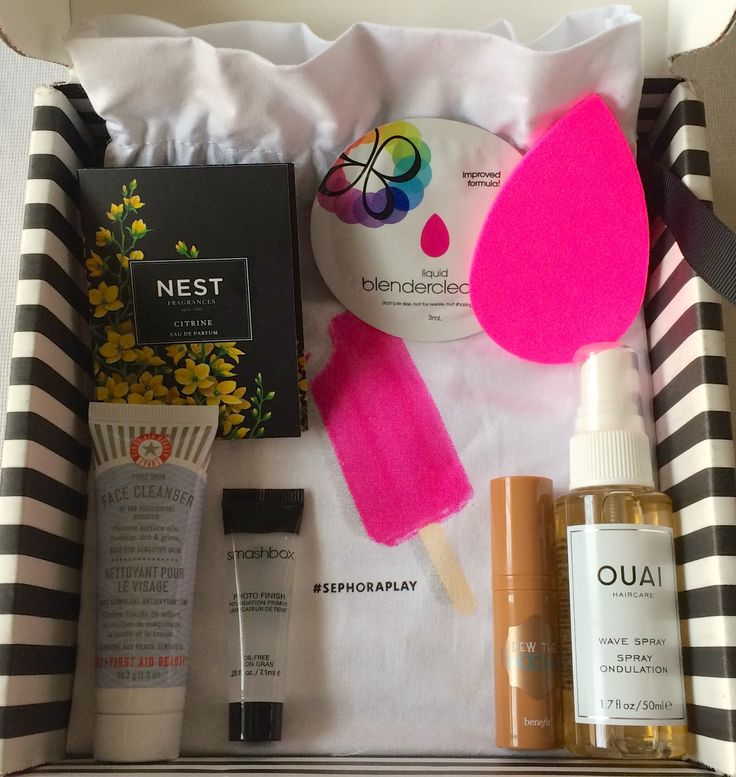 Play! by Sephora Subscription Box Review - July 2016