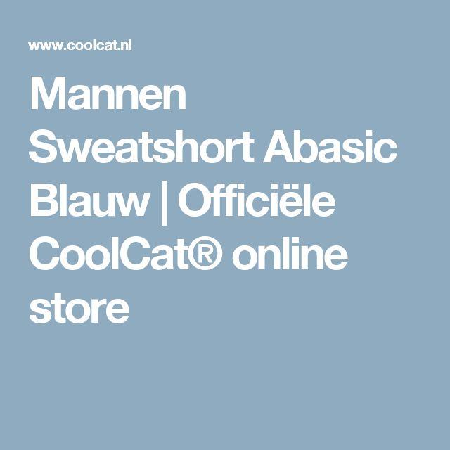 Mannen Sweatshort Abasic Blauw | Officiële CoolCat® online store