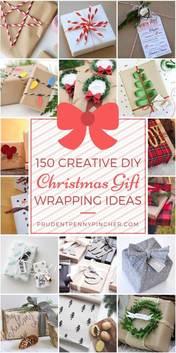 150 Creative Christmas Gift Wrapping Ideas Holiday Cheap