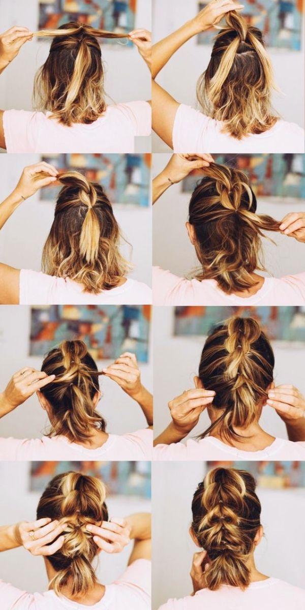 Self Do Hairstyles For Working Moms 10 Jpg 600 1200 Short Hair Styles Easy Short Hair Styles Medium Hair Styles