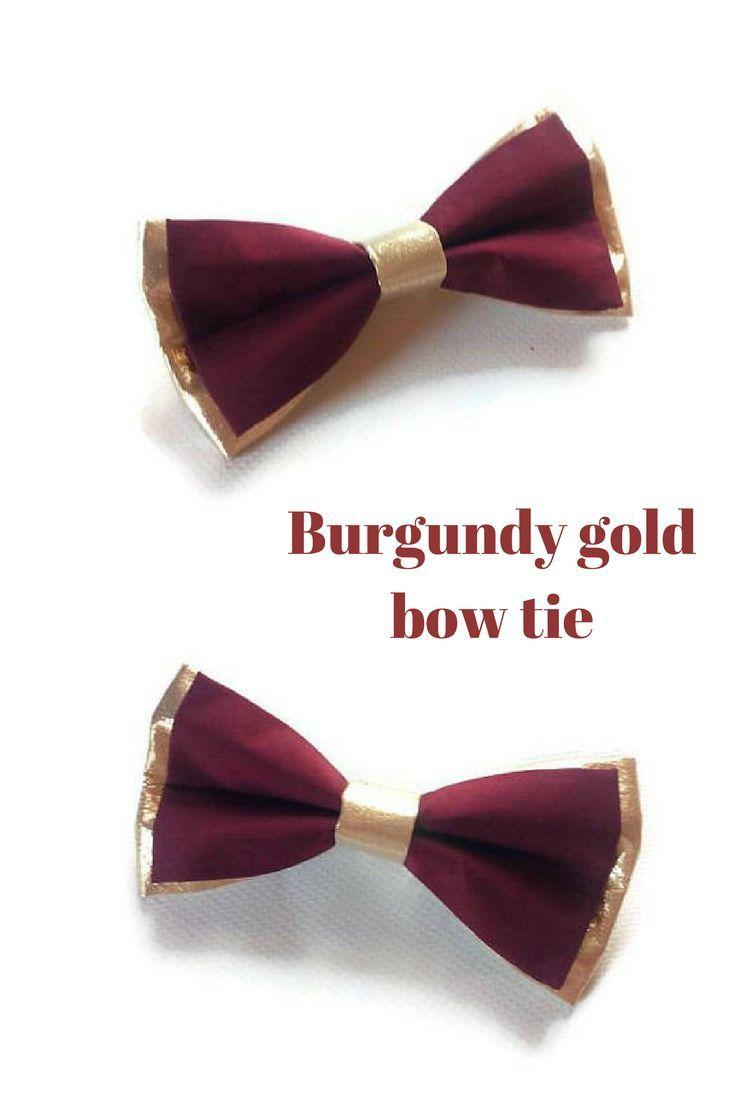 Best 25+ Burgundy bow tie ideas on Pinterest