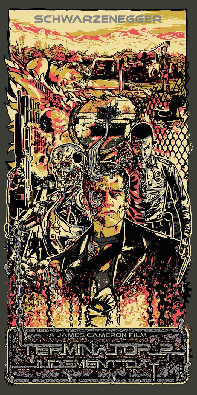 Terminator 2 - Judgement Day by Daniel Nash