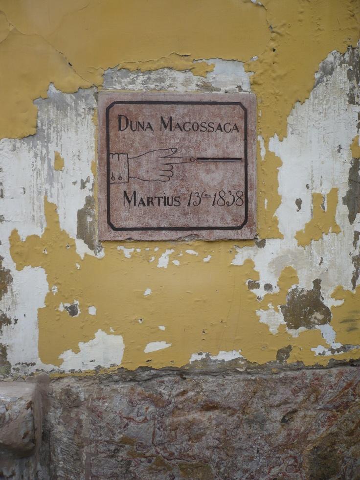 Esztergom, Duna magossága
