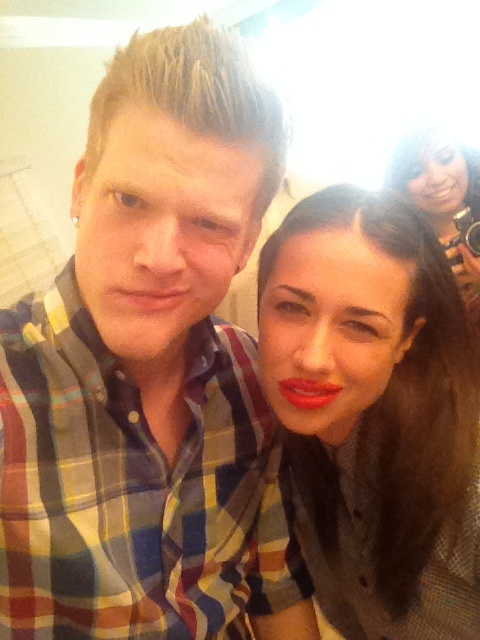 Scott with Miranda Sings!
