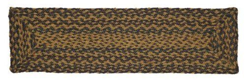 "Patriotic Patch Jute Stair Tread Rectanglar 8.5x27"" by Victorian Heart. $11.20. See Product Description below for more details!. Product measurements and additional details listed in title and/or Product Description below.. All cloth items in our collections are 100% preshrunk cotton. All braided items (like rugs, baskets, etc.) are 100% jute. Extensive line of matching items and accessories available! (Search by Collection name). High end quality and workmanship!..."