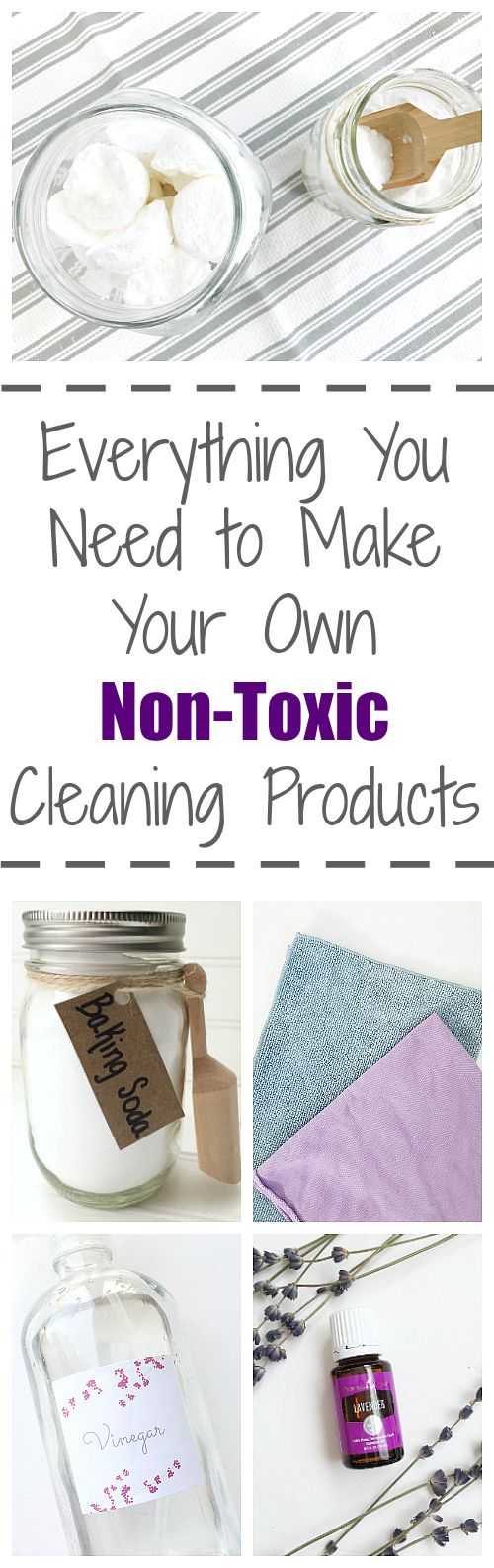 Want to make your own cleaners? It is SO easy, and only requires a few items.