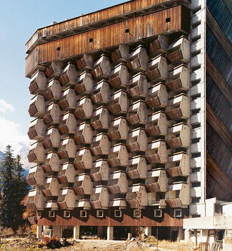 Very strange Soviet architecture. A sports-resort.