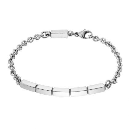 Kalevala Koru / Kalevala Jewelry / PITKOS RANNEKORU / Causeway Bracelet / Material: silver