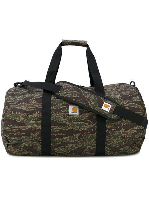 CARHARTT Camouflage Holdall. #carhartt #bags #polyester #