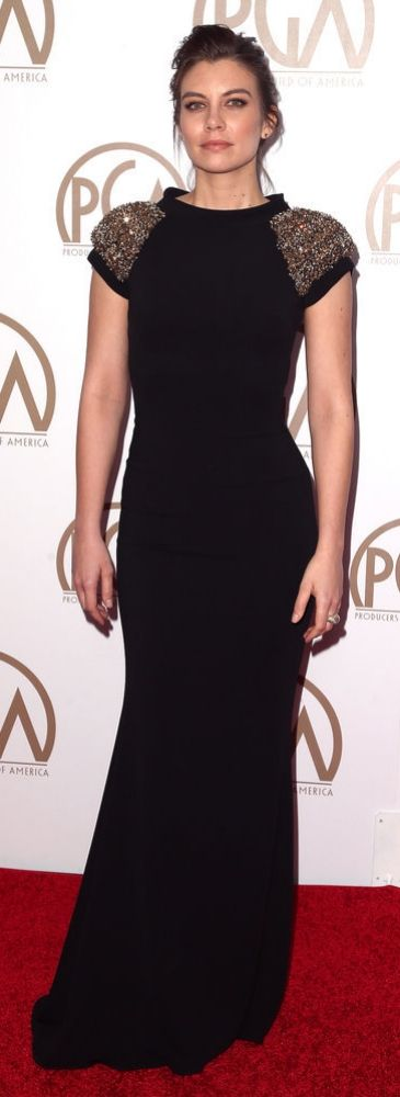 The Walking Dead's Lauren Cohan at the Producers Guild Awards 2015