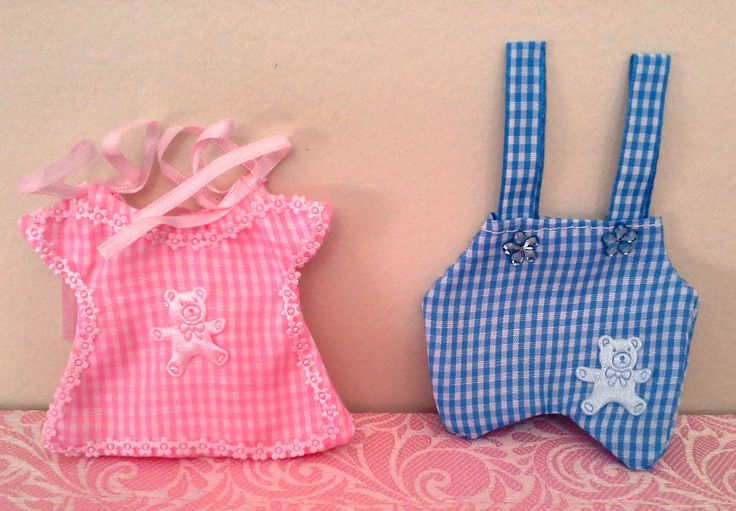 Baby Shower/Christening/ Birthday Party Pink Blue Favour Bomboniere Bags