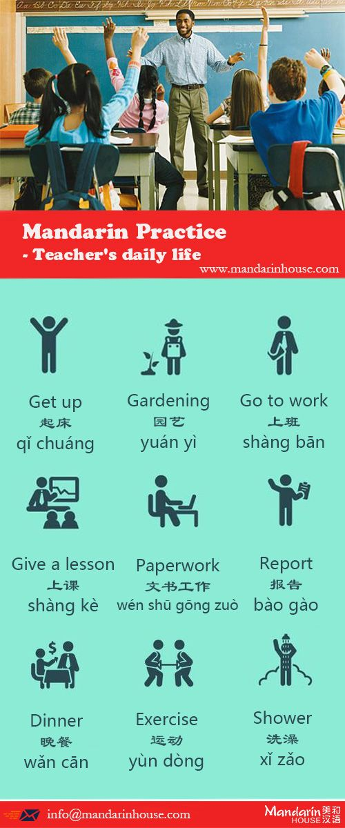 Teacher's daily life in Chinese.For more info please contact: bodi.li@mandarinhouse.cn The best Mandarin School in China.
