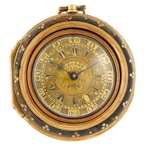 A triple case pocket watch made for the Turkish market by George Prior. Estimate GBP: £1,800 - £2,400